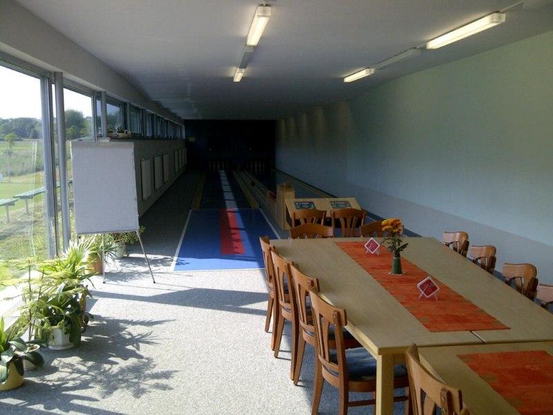 Die Sportgaststätte komplett geöffnet !