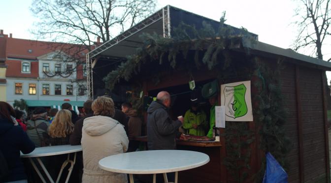 Standbetreuung zum Weihnachtsmarkt