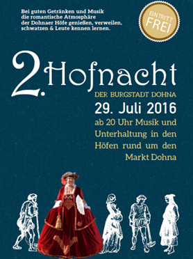 2. Dohnaer Hofnacht