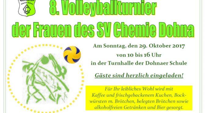 Volleyball-Volkssportturnier der Frauen