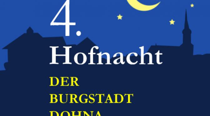 4. Hofnacht – Helfer gesucht!